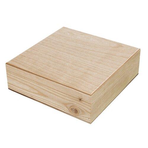 Купить Mr. Carving Заготовка для декорирования Шкатулка с 4 ячейками ВД-486 бежевый, Декоративные элементы и материалы
