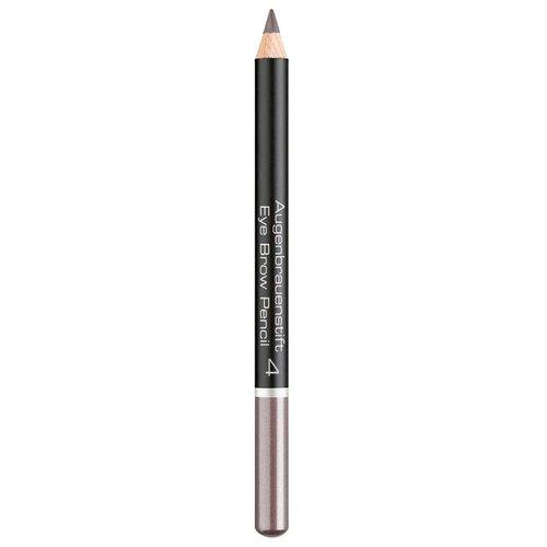 Фото - ARTDECO карандаш для бровей Eye Brow Pencil, оттенок 4 - light grey brown landa branda карандаш automatic eye brow pencil оттенок blond