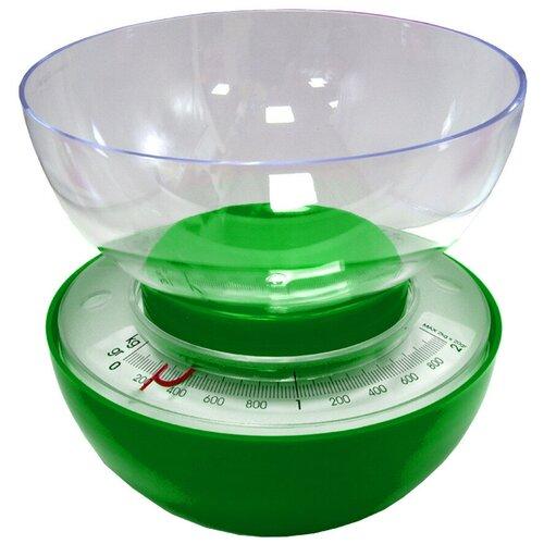 Весы кухонные 185х30 см (цвет: салатовый)