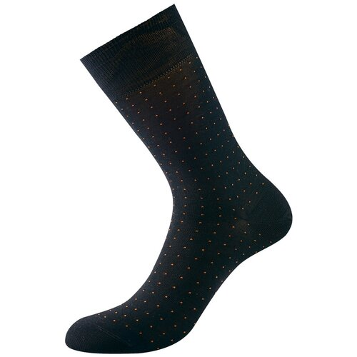 Фото - Носки Philippe Matignon Punto, размер 45-47, nero/orange носки philippe matignon phm701 размер 45 47 nero