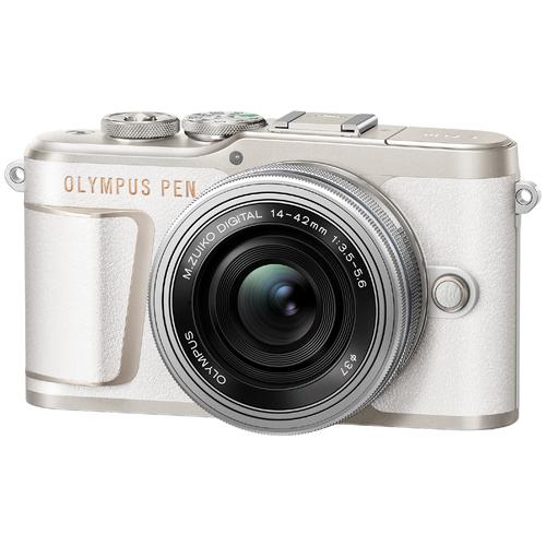 Фото - Фотоаппарат Olympus Pen E-PL10 Kit белый M.Zuiko Digital 14‑42mm F3.5‑5.6 EZ фотоаппарат olympus pen e pl8 pancake kit с 14 42 ez белый v205082we000