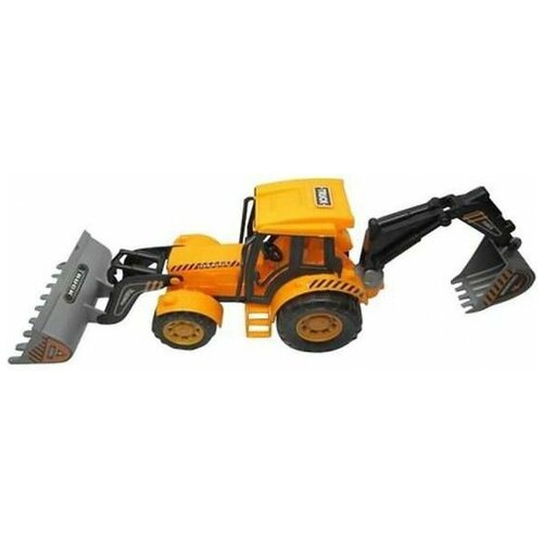 Трактор Junfa toys 8766-1, желтый