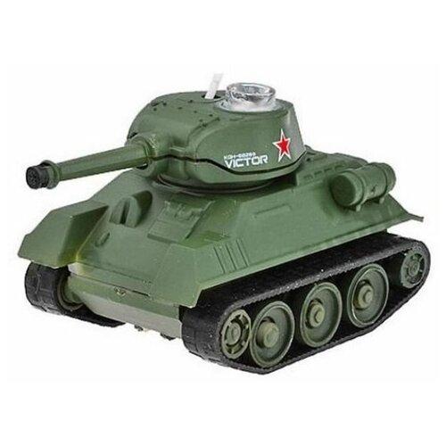 Радиоуправляемый танк Happy Cow 777-215 1/64 RTR, свет робот мини танк шпион happy cow i spy с камерой wifi 777 270 gray