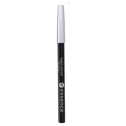 Essence карандаш для глаз Kajal Pencil, оттенок 01 black карандаш для глаз kajal pencil 1г 21 feel the eclipse