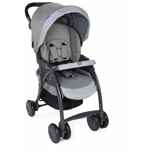 Прогулочная коляска Chicco SimpliCity Plus Top, top grey прогулочная коляска chicco lite way top aster