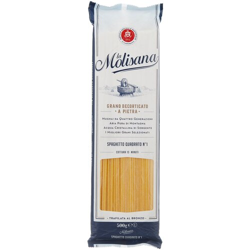 Фото - La Molisana Макароны Spaghetto Quadrato № 1, 500 г la molisana spa макароны rigatoni 31 500 г