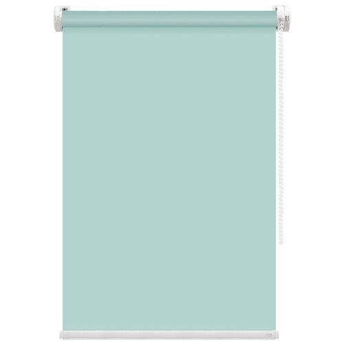 Рулонная штора FixLine Basic (бирюзовый), 75х180 см