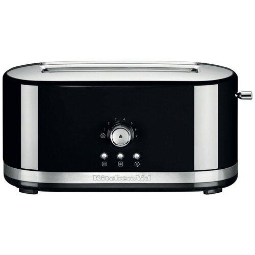 Фото - Тостер KitchenAid 5KMT4116EOB, черный тостер kitchenaid 5kmt2204efp морозный жемчуг