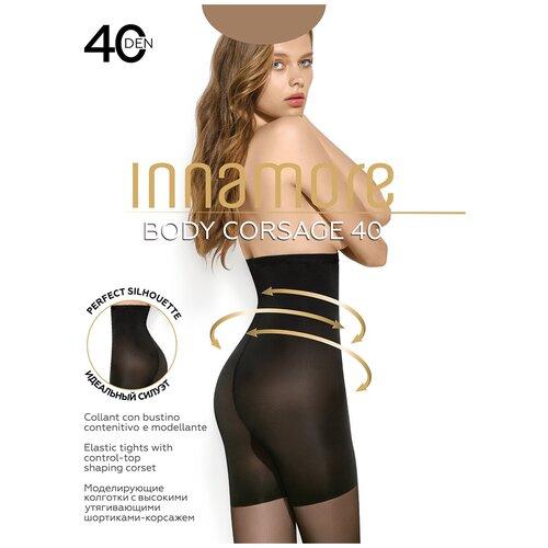 Колготки Innamore Body Corsage, 40 den, размер 5-XL, daino (бежевый)