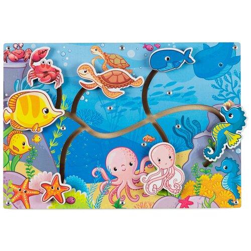 Головоломка PAREMO Морские обитатели (PE720-130) синий/розовый