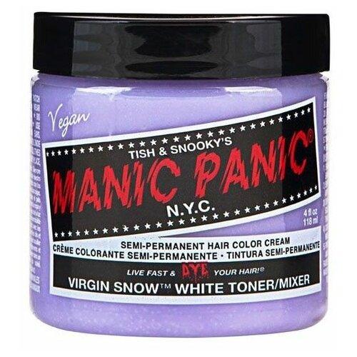 Купить Крем Manic Panic High Voltage Virgin Snow White Toner белый тонер, 118 мл