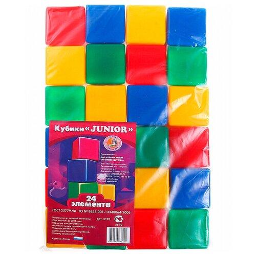 Фото - Кубики Строим вместе счастливое детство Джуниор 5178 кубики строим вместе счастливое детство набор 2 5253
