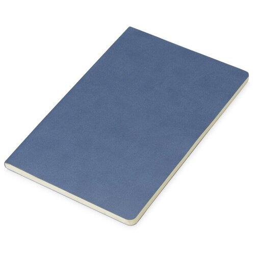 Блокнот «Wispy» линованный в мягкой обложке, темно-синий по цене 496