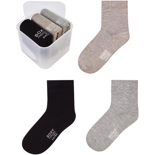 Женские носки SOXY (Комплект - 3 пары в пластиковом боксе)