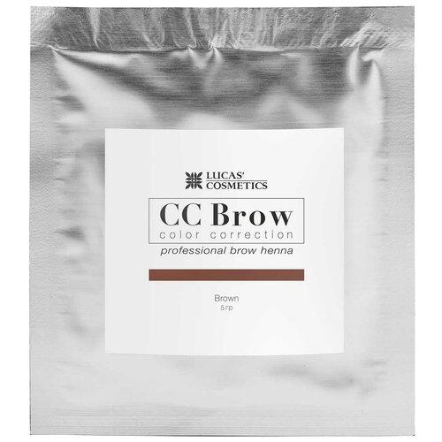 Фото - CC Brow Хна для бровей в саше 5 г brown cc brow хна для бровей в саше 10 г blonde