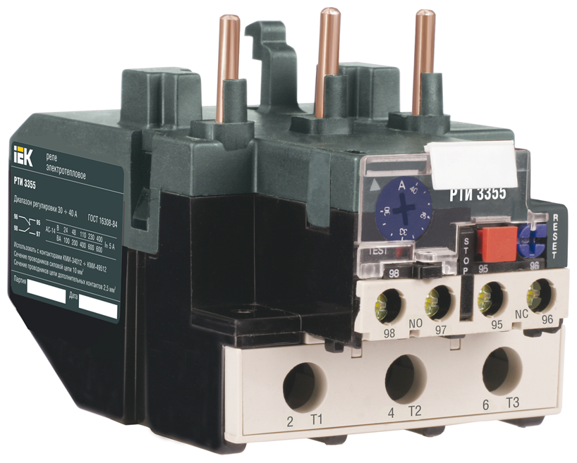 Характеристики модели Реле перегрузки тепловое IEK DRT30-0063-0080 на Яндекс.Маркете