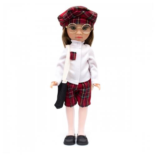 Кукла Knopa Мишель на учебе, 36 см, 85002
