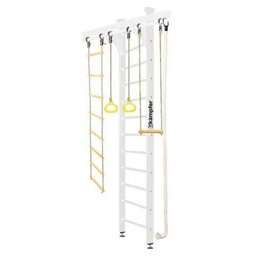 Купить Шведская стенка Kampfer Wooden Ladder Ceiling высота 3 м жемчужный, Игровые и спортивные комплексы и горки