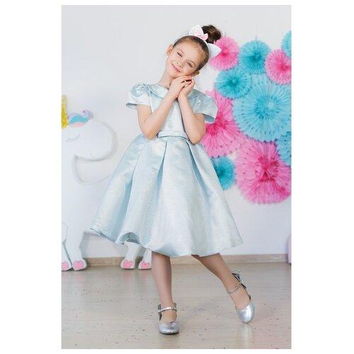 Платье Minaku Жаклин размер 116, голубой