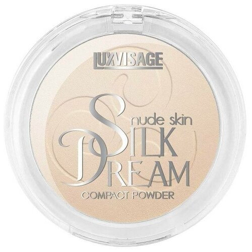 Фото - LUXVISAGE пудра компактная Silk Dream Nude Skin №2 Светлый беж luxvisage румяна silk dream тон 4