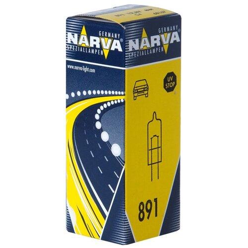 Лампа автомобильная галогенная Narva 681673000 891 G4 12V 8W 1 шт.
