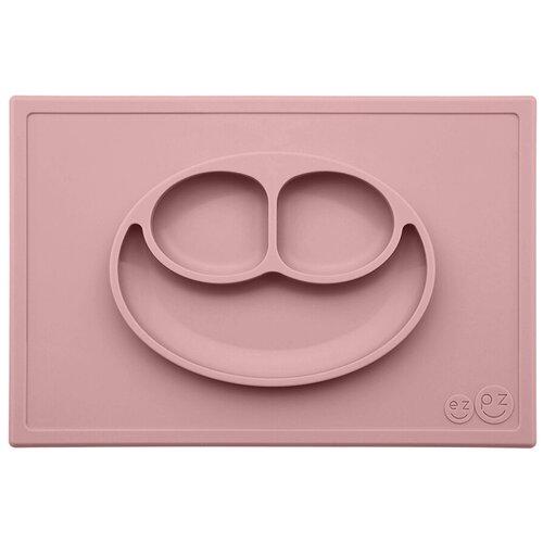 Купить Тарелка EZPZ Happy mat, blush, Посуда