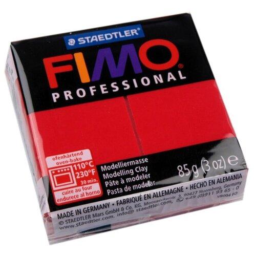 Купить Полимерная глина FIMO Professional запекаемая 85 г пунцовый (8004-29), Глина