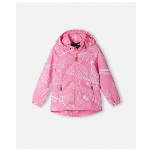 Куртка Reima размер 122, 4422 розовый брюки reima voyage 532083 размер 122 9990 черный