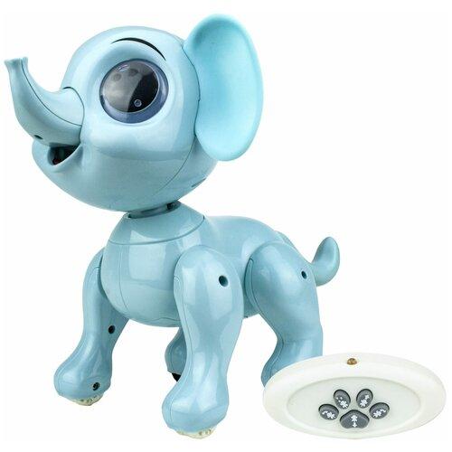 Фото - Робот 1 TOY Robo Pets Слоник Фанти Т17164 голубой робот 1 toy robo pets котёнок белый голубой