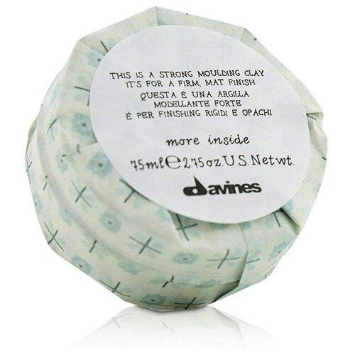 Купить Davines Моделирующая глина для стойкого матового финиша More Inside Strong Moulding, сильная фиксация, 75 мл