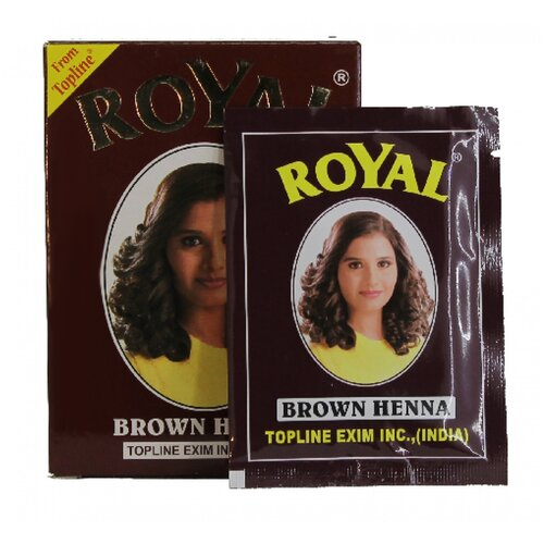 Купить Royal Хна для бровей, 10 г brown 7 шт.
