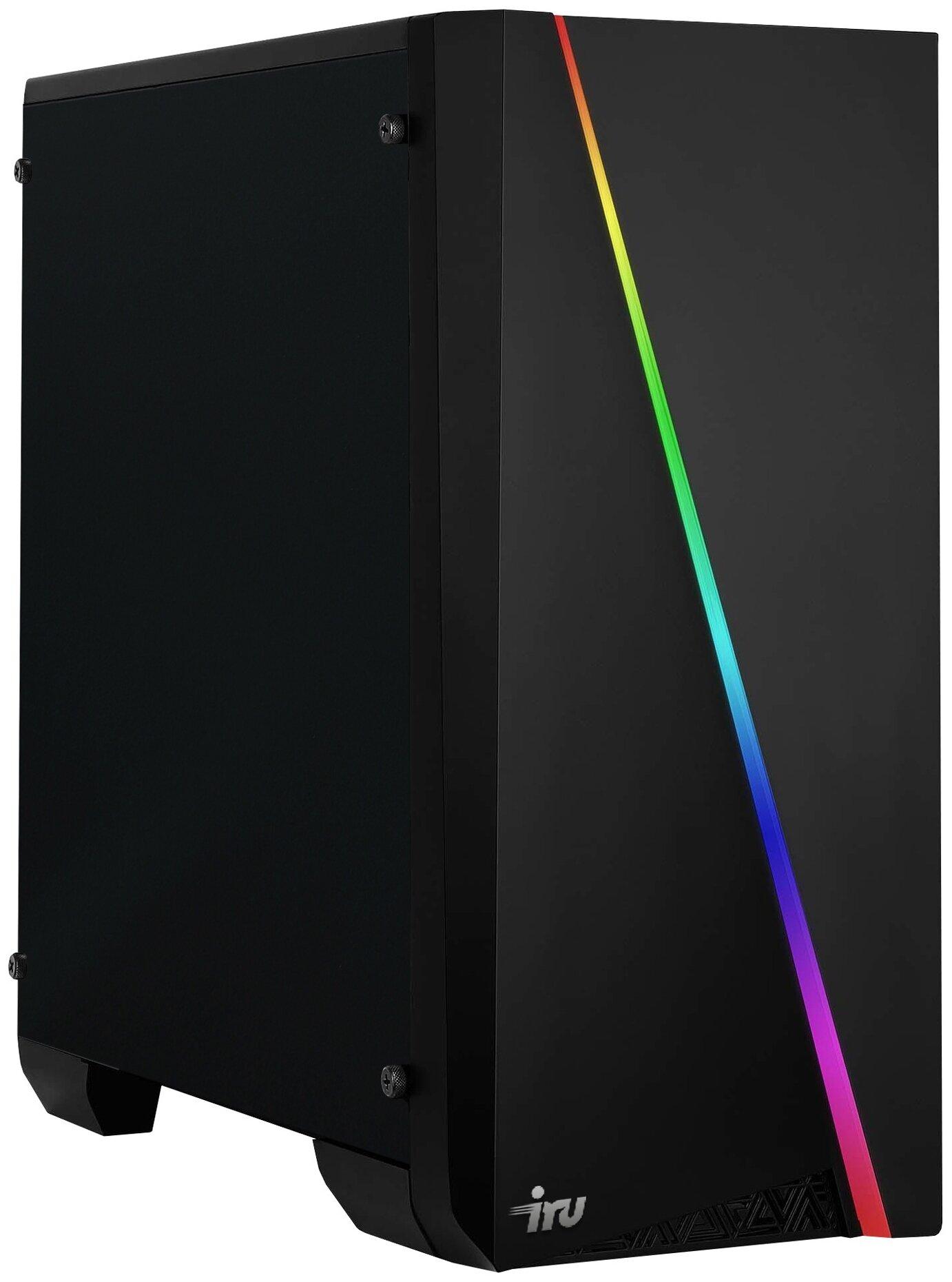 Настольный компьютер iRu Game 515 (1509714) Midi-Tower/Intel Core i5 10400F/16 ГБ/240 ГБ SSD+1 ТБ HDD/NVIDIA GeForce RTX 3060/DOS — купить по выгодной цене на Яндекс.Маркете
