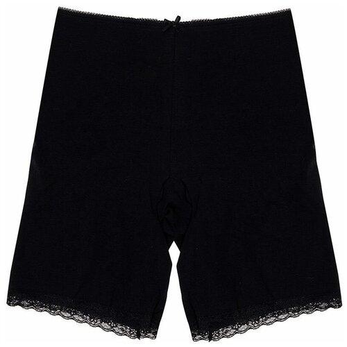 MiNiMi Трусы панталоны с завышенной талией, размер 52/XXL, черный (nero)