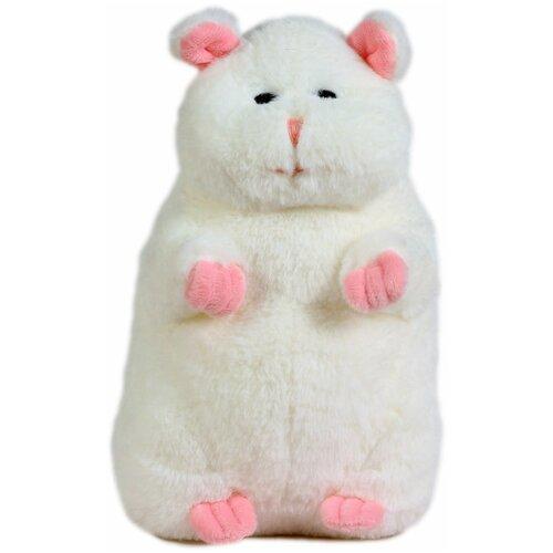 Мягкая игрушка Хомяк 20см белый
