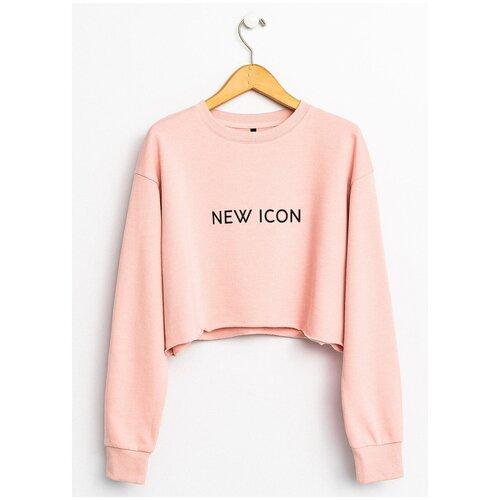 Свитшот Befree, размер M/46, розовый свитшот befree befree mp002xw1ga0d
