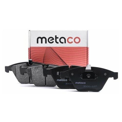 Колодки тормозные передние к-кт (Производитель: METACO 3000127)