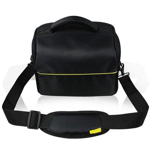 Фото - Чехол-сумка для MyPads TC-1220 фотоаппарата Nikon D5500/ COOLPIX B500/ B700 из качественной износостойкой влагозащитной ткани черный чехол бокс mypads tm 533 для фотоаппарата nikon coolpix s6300 s6400 s6600 из высококачественного материала зеленый