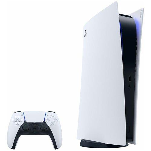 Игровая приставка Sony PlayStation 5 Digital Edition 825 ГБ, белый