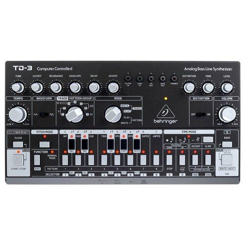 Синтезатор BEHRINGER TD-3-SR black