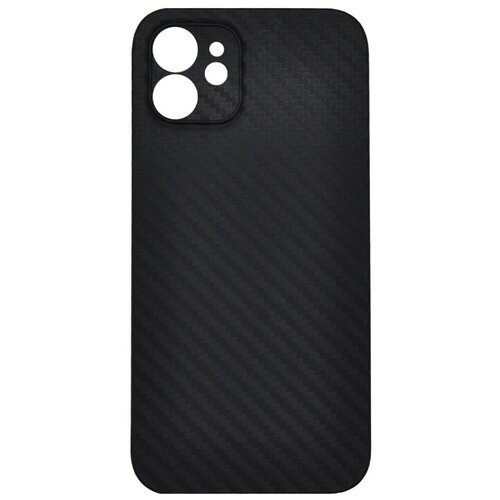 Ультратонкий чехол-накладка под карбон K-DOO для iPhone 12 Mini Черный