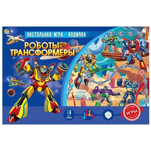 Настольная игра Рыжий кот Роботы-трансформеры ИН-4835