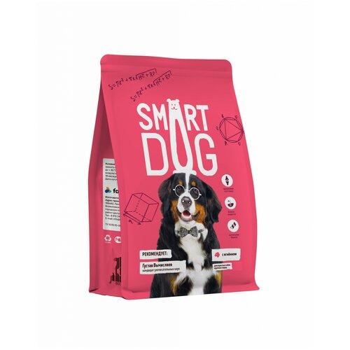 Сухой корм для собак Smart Dog ягненок 3 кг (для крупных пород)
