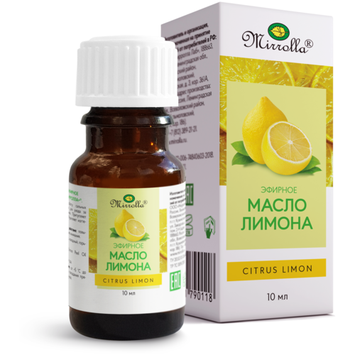 Mirrolla эфирное масло Лимон, 10 мл