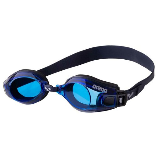 Фото - Очки для плавания arena Zoom Neoprene 92279, black/blue/navy очки для плавания arena zoom neoprene 92279 black clear black