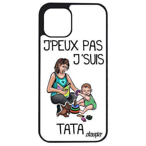 """Чехол для телефона iPhone 12 mini, """"Не могу - стала тетей!"""" Комикс Семья"""