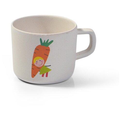 Чашка Fissman бамбуковая (8365 / 8368 / 8359), морковка
