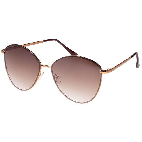 солнцезащитные очки Солнцезащитные очки женские/Очки солнцезащитные женские/Солнечные очки женские/Очки солнечные женские/21kdgann901015c3vr коричневый/Vittorio Richi/Авиаторы/модные