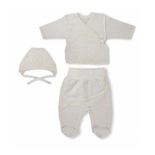 Купить Комплект одежды LEO размер 62, молочный, Комплекты