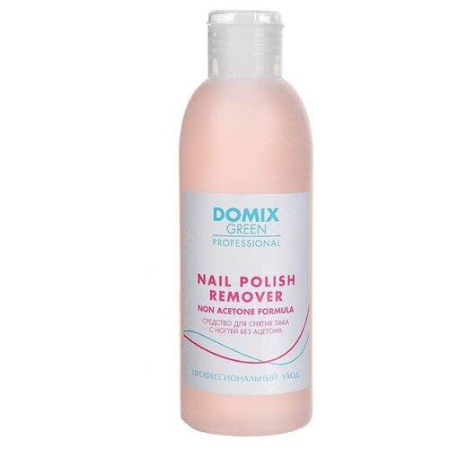 Купить Domix Green Professional Nail Polish Remover Non Aceton Formula Средство для снятия лака с ногтей без ацетона 200 мл
