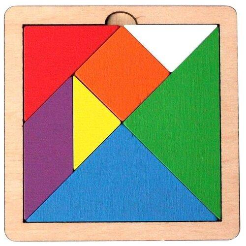 Купить Головоломка Десятое королевство Танграм (00786) разноцветный, Головоломки